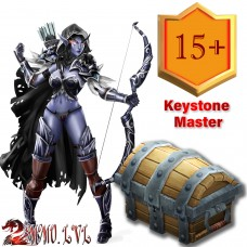 BFA Keystone Master Season 4  (12x15+ lvl myhic dungeons within the time limit)