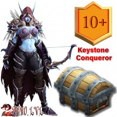 BFA Keystone Conqueror Season 4  (12x10+ lvl myhic dungeons within the time limit)
