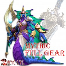 The Eternal Palace Mythic Full Gear