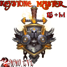 Keystone Master (15 - 24+ lvl mythic dungeon in time)